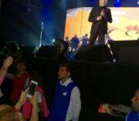Show de Cristian Castro en Tigre